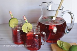Quick and refreshing - this Berry Punch Recipe is perfect for any special occasion or whip up a batch to sip on the porch!