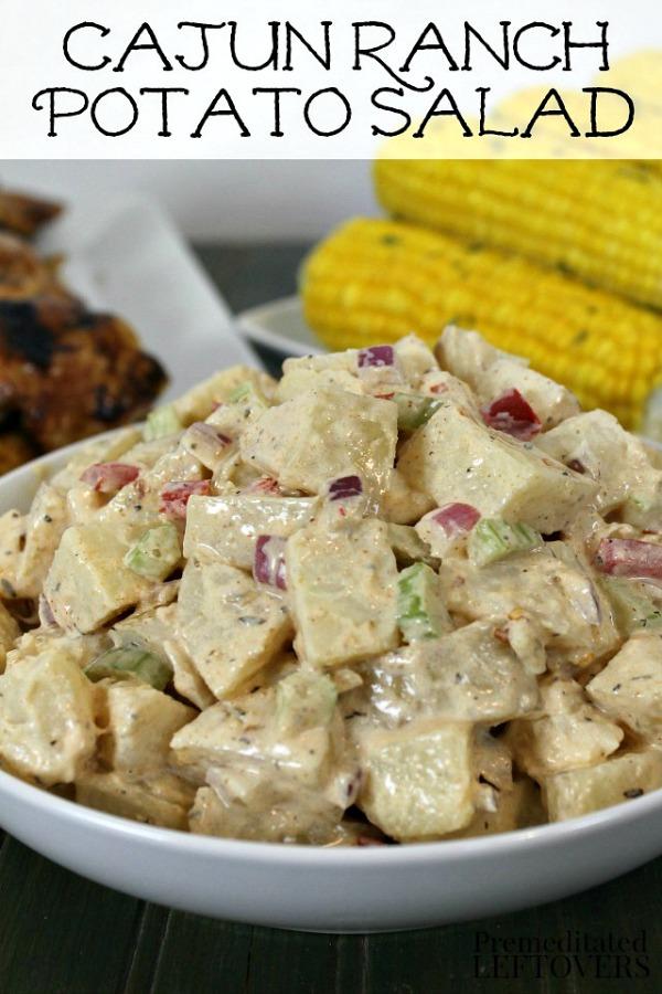 Cajun Ranch Potato Salad from Premeditated Leftovers