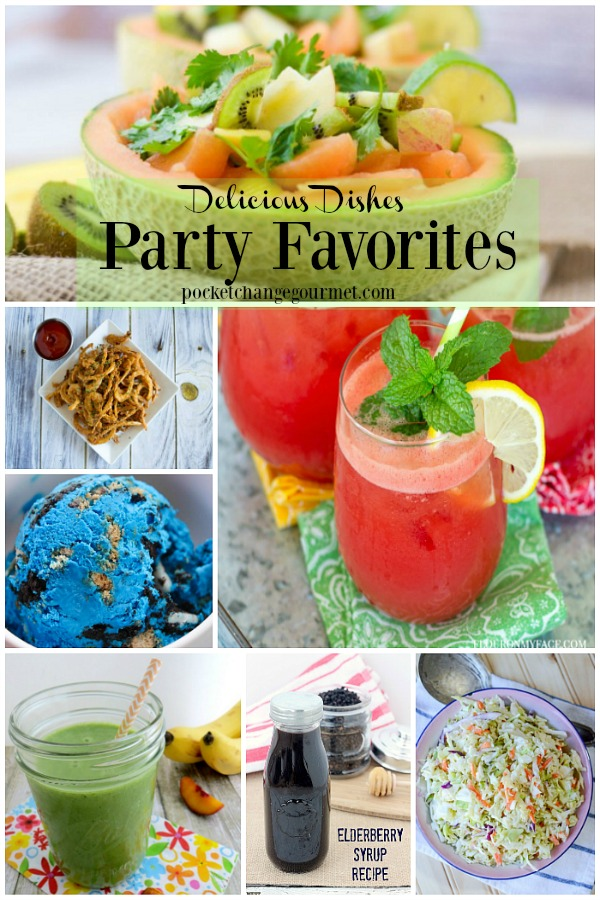 Delicious Dishes Party Favorites from party #19 featured on Walking on Sunshine Recipes.