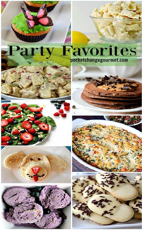 Party Favorites from Delicious Dishes Recipe Party #21 featured on Pocket Change Gourmet