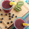 Blueberry Kiwi Lemonade Slush