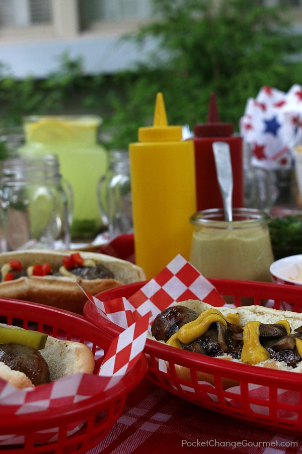 Hosting a Summer Cookout doesn't have to be stressful or cost a lot of money! Bringing family and friends together the most important thing!