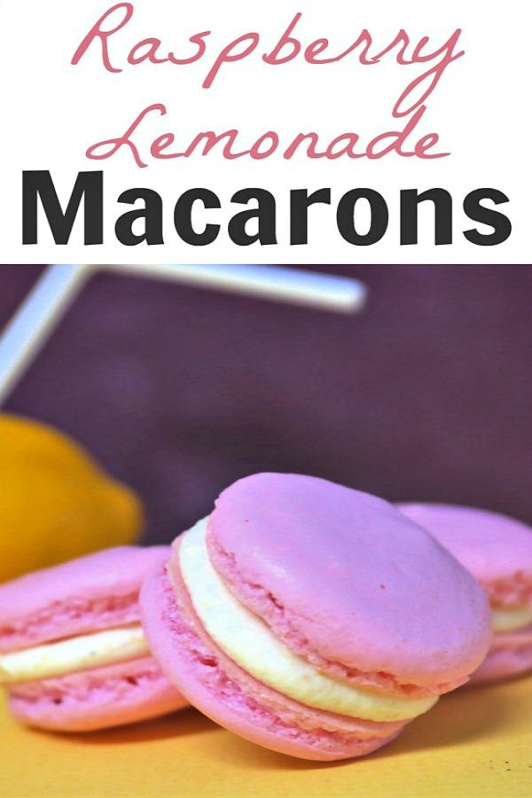 Raspberry Lemonade Macarons from Thinking Outside the Sandbox