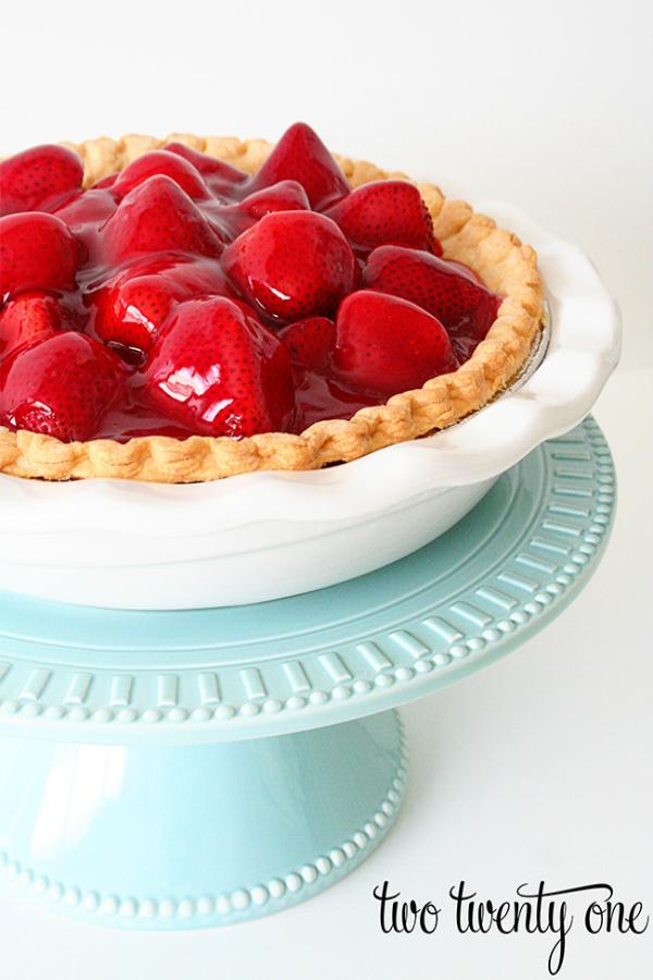 Strawberry Pie from Two Twenty One