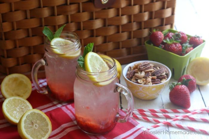 Strawberry-Lemonade