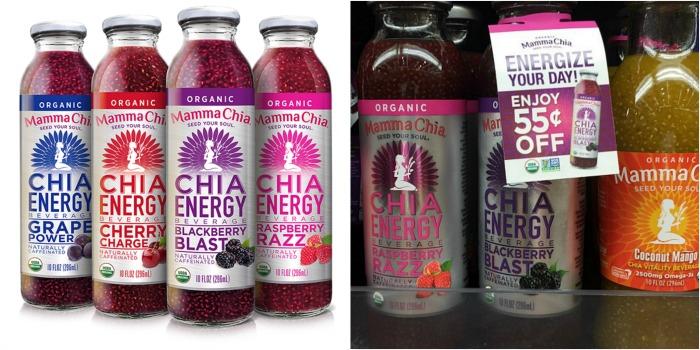 Mamma Chia Energy Drinks
