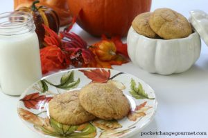 Taste the flavor of Fall with these delicious Pumpkin Spice Snickerdoodles.