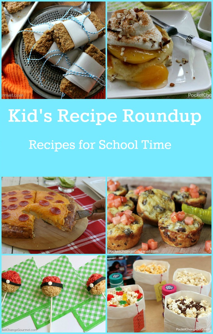 Take on the school year with these great recipes!