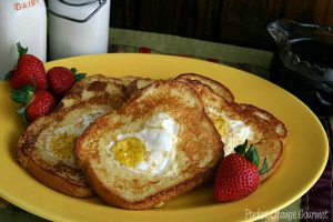 French Toast Egg-in-a-hole