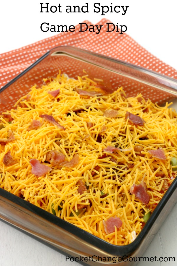 A great game day dish to add a little kick to your football game.