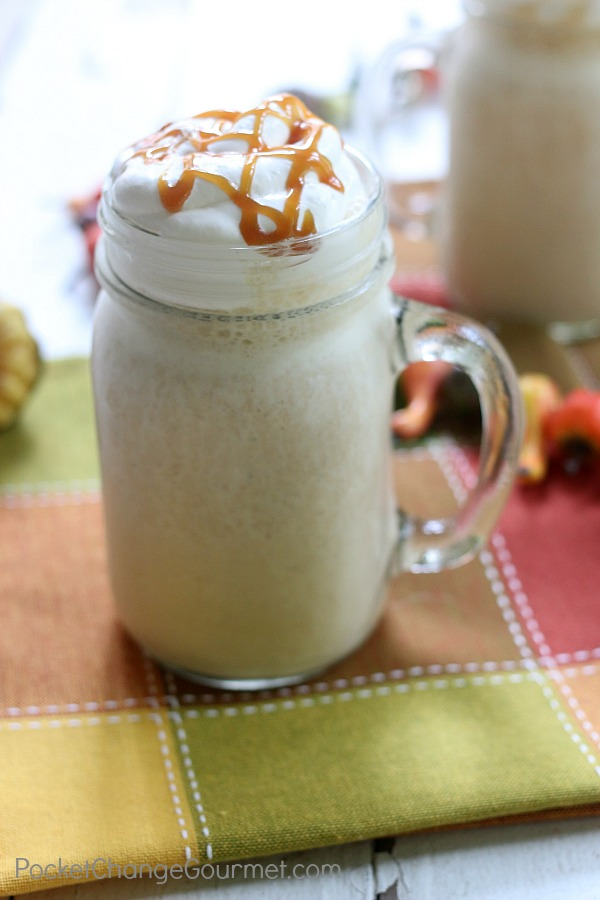 PUMPKIN PIE SPICE SMOOTHIES -- All you need are a few ingredients to make this delicious taste of Fall!