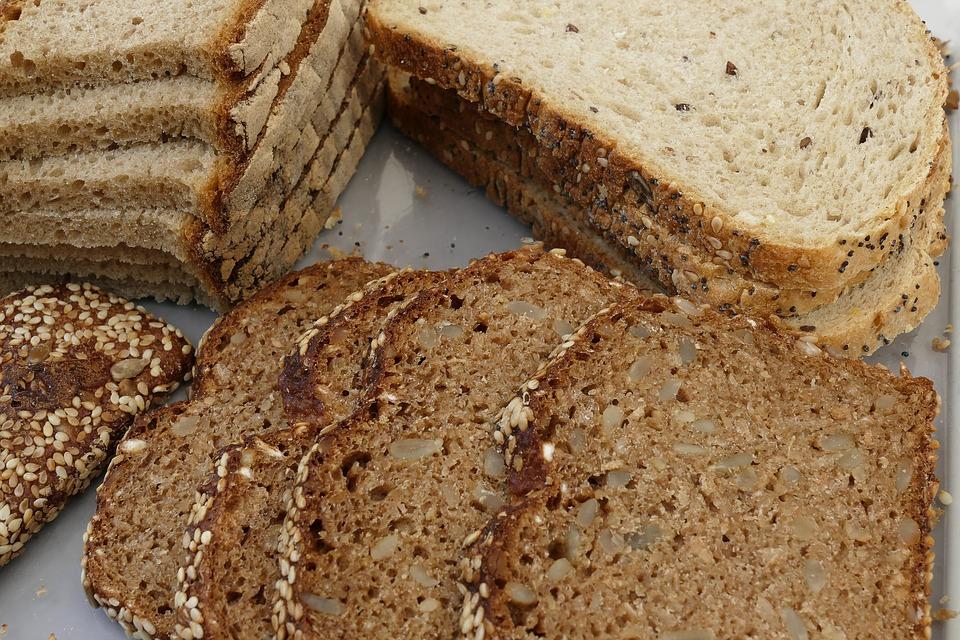 Sliced Pastrami sandwich rye bread