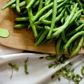 green beans to be cooked using a delicious sauteed green beans recipe