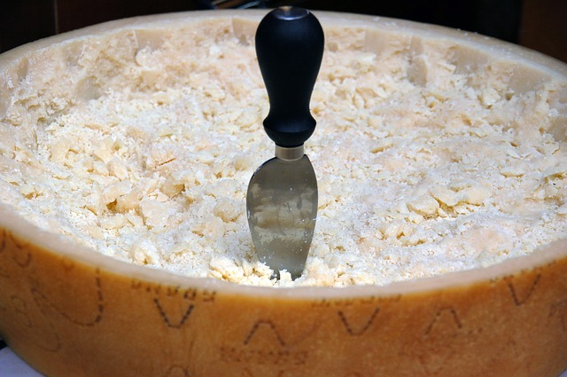 Parmigiano-Reggiano cheese which you can use on the poppy seed chicken casserole