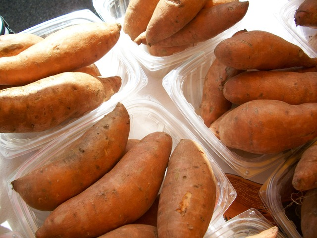 sweet potatoes which you can use add on your chicken croquettes